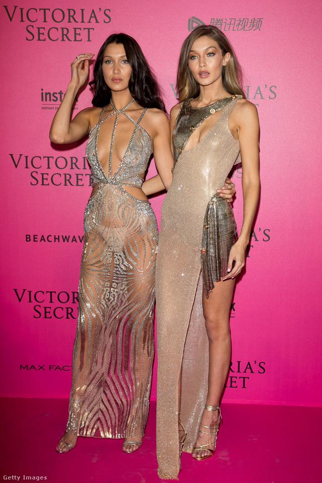 Összeöltöztek a Victoria's Secret párizsi partijára.