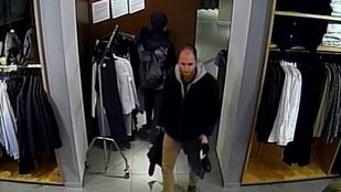 Alkalom szüli a laptoptolvajt: a próbafülkéből lopott Kőbányán egy férfi, keresik