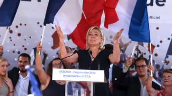 Le Pen a legnépeszerűább francia elnökjelölt