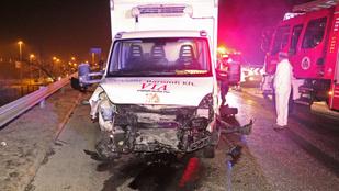 Halálos baleset történt a Gyáli úti felüljárón