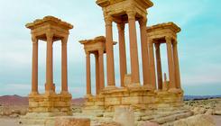 Lerombolták a palmürai Tetrapülont