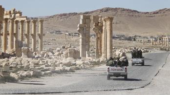 Az Iszlám Állam római kori műemlékeket rombolt le Palmürában