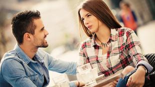 7 idegesítő kérdés, amit férfiak randin fel szoktak tenni