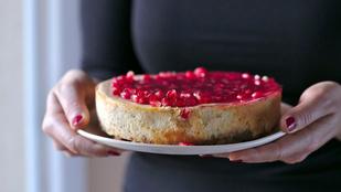 Cheesecake téliesítve: ha könnyű desszert kell