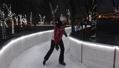 Elég menő jégfolyosón korizhatunk Csepelen