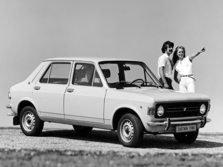 A Zastava 1100 nem meglepő módon szintén egy Fiat jugoszláv alteregója volt: a 128-asé
