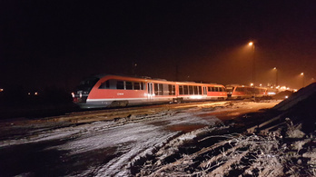 Ezért siklott ki a vonat Esztergomnál