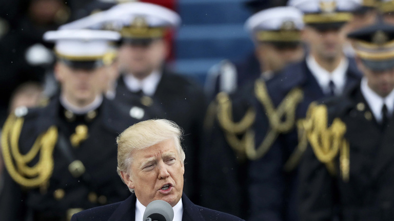 Ennyire populista beköszöntőt még nem mondott amerikai elnök