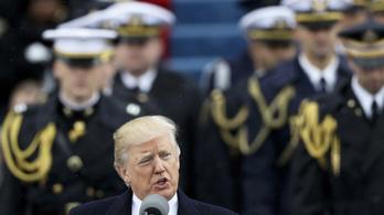 Donald Trump a CIA központjába látogatott