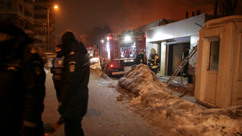 Leégett egy bukaresti klub, 38 sebesült