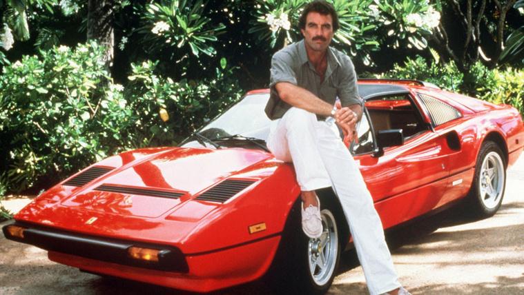 Elkelt Magnum Ferrarija