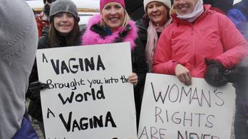 Félmillió nő tüntetett Trump ellen Washingtonban