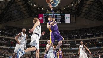 Minden eddiginél mélyebbre süllyedt a Lakers