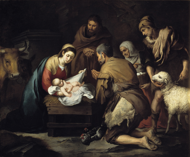 Murillo: A pásztorok imádata