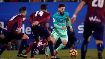 A gól csak pláne, az irányító Messi egy fokozattal feljebb kapcsolt