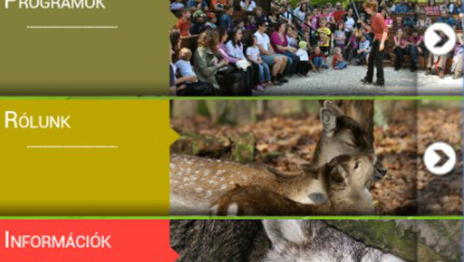Mobilba bújtatott túravezetők mutatják az utat a Budakeszi Vadasparkban