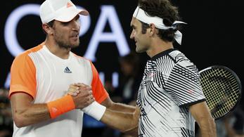Federer elintézte Murray legyőzőjét