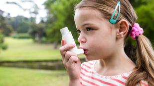 Az asztmás gyerekek nagyobb eséllyel híznak el