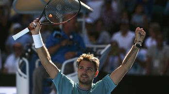 Őrült szellemi magasságokban a legjobb svájci teniszező