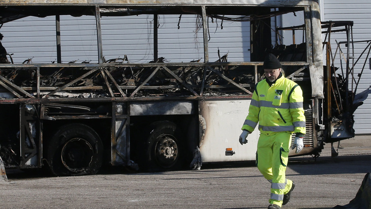 Buszbaleset: nincs műszaki meghibásodásra utaló nyom