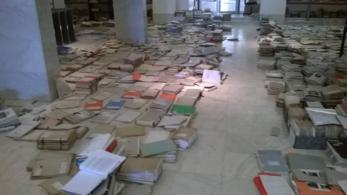 Elismerték: visszavonhatatlanul károsodtak műemléki anyagok a csőtörés miatt