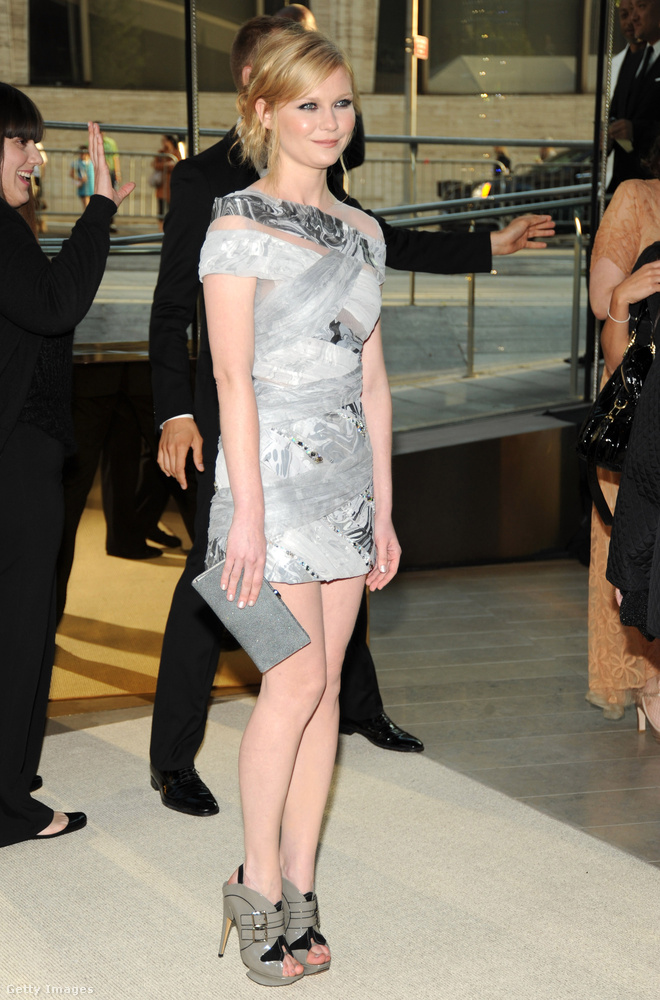 Ez egy 2009-es kép Kirsten Dunstról.