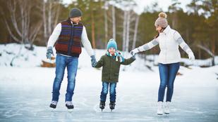 Ezekre figyeljen, ha természetes jégen korcsolyázna