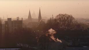 Kísértetvárossá változtatta a szmog Budapestet
