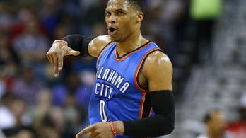 Westbrook: hét meccs, hat tripla-dupla