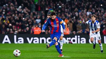 Messi: gól, 2 gólpassz, a vége 5-2 lett