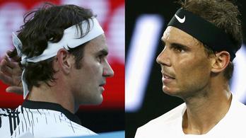 Federer 18.-szor, vagy Nadal 15.-ször?