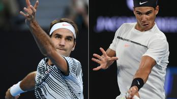 Federer és Nadal álomdöntője az AusOpenen