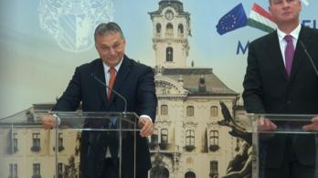 Megbotlott a nyelve, vagy Orbán tényleg falat tervez a déli határra?