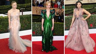 SAG: íme a 15 legjobban öltözött színésznő