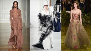 Haute couture 2017: pucérruha cunami és arcos kabát