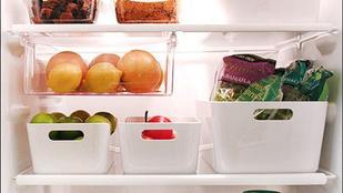 Kevés a hely a hűtőben? Rendszerezze!