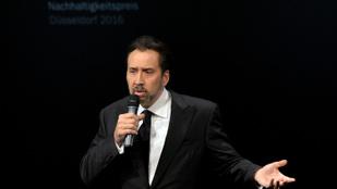 Nicolas Cage meglepte saját rajongóit