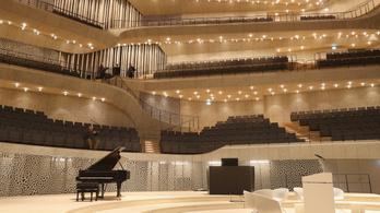 Óriási az érdeklődés a hamburgi Elbphilharmonie koncertjei iránt