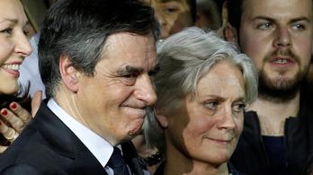 Rendőrök szállták meg a francia parlamentet a konzervatív elnökjelölt miatt