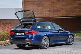 Megmutatták az új 5-ös BMW kombi változatát
