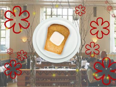 Michelin-csillagos séfek szerint az idei év kajatrendjébe a vajas kenyér is belefér