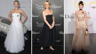 Kinek áll jobban a mellkidobós Dior?