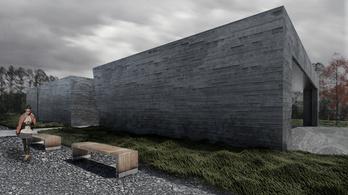 Diákok terveztek új fogadóépületet a Recski Történelmi Emlékhelynek