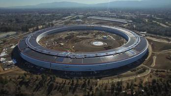 Nézze meg az Apple új főhadiszállását!