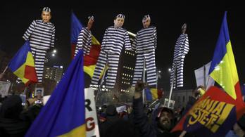 Hatottak a tüntetések, mégsem könnyítik meg a korrupciót Romániában