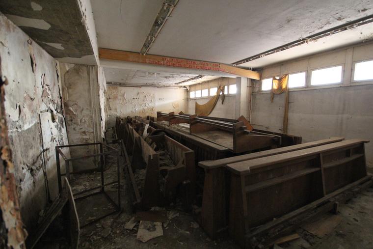 Azóta az épületegyüttes állapota csak romlik