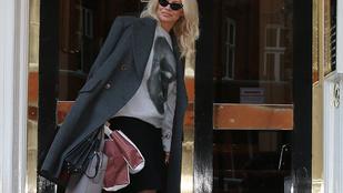 Pamela Anderson Julian Assange-zsal találkozgat