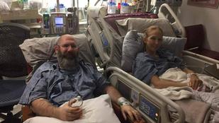 Házassági évfordulójukra a veséjét adta feleségének
