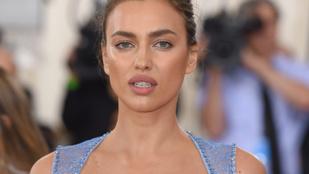 Megértjük, ha ugrál örömében: Irina Shayk szőkén dögösködik tovább