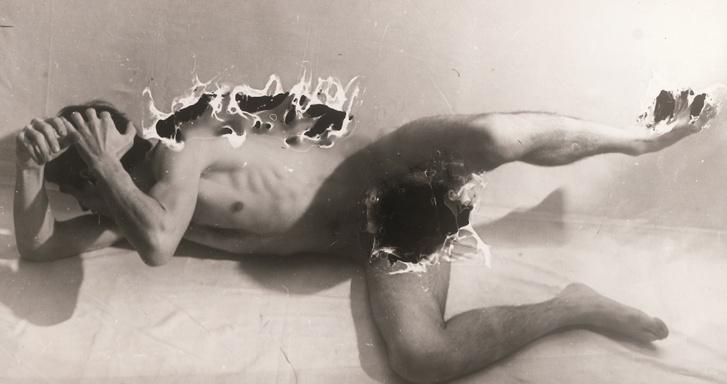 Hajas Tibor: Felületkínzás III., 1978